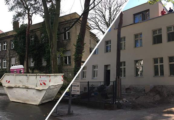 Aufstockung Stadtvilla Berlin-Grunewald