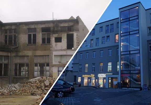 Altes Kontor- und Lagerhaus - Lieberoser Straße, Cottbus